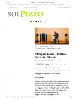 A Muggia Teatro – Festival Estivo del Litorale – SULPEZZO.it