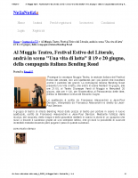 Al Muggia Teatro, Festival Estivo del Litorale, andrà in scena _Una vita di latta_ il 19 e 20 giugno, della compagnia italiana Bending Road – Spettacoli e TV