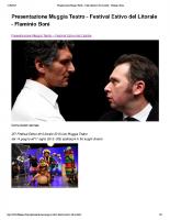 Flaminio Boni blog teatro