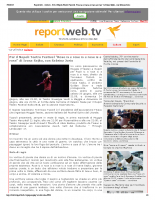 REPORT WEB TV