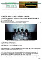 A Muggia Teatro in scena _The Maze (Labirint)_ – SINAPSI NEWS-L'informazione libera