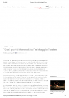 Il Tabloid_Così parlò Monna Lisa_ a Muggia Teatro