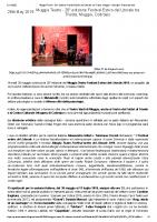 Muggia Teatro – 26° edizione Festival Estivo del Litorale tra Trieste, Muggia, Codroipo _ Proscenio web